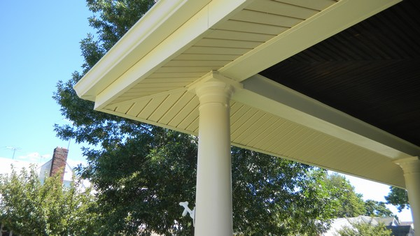 gallery painting exterior wood columns