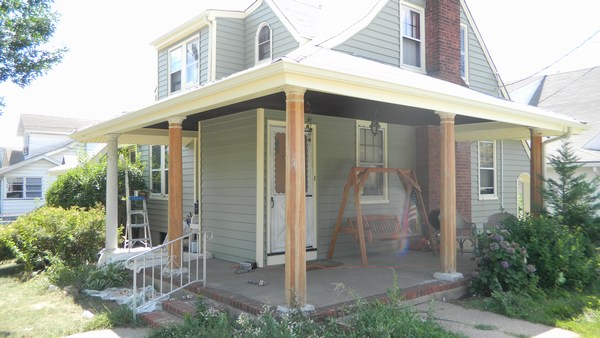 HOME U003e Gallery U003e Painting Exterior Wood Columns Part 13